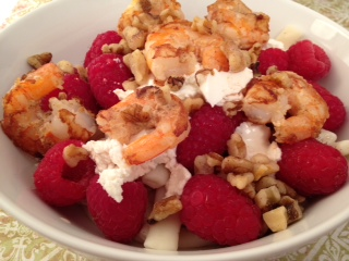 Dijon Shrimp & RaspberryPasta