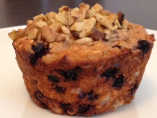 Blueberry Oat Muffins (Bakery Size)
