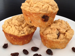 A Dedication……Cinnamon Raisin Kamut Muffins