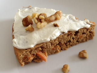 Protein Packed Carrot Cake…..And a Guest Post!