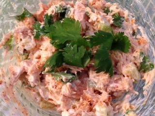 Salmon Fiesta Salad