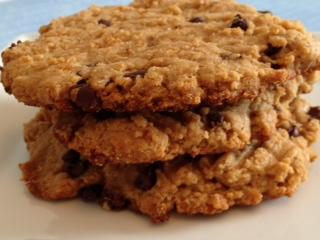Cashew Chip Cookies