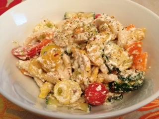 Creamy Summer Veggie Pasta Salad – Sunday Power Meal#2