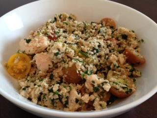 Tuna TVP Salad
