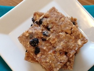 Blueberry Almond Protein Bars