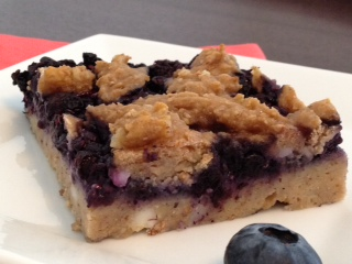 Blueberry Squares — My First Recipe Redux
