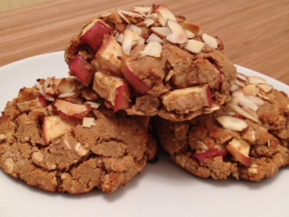 Apple Cinnamon Almond Scones